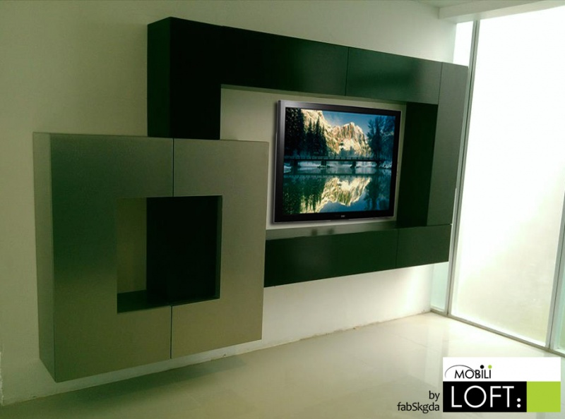 Soluciones para tv muebles contemporaneos minimalistas for Muebles para tv contemporaneos