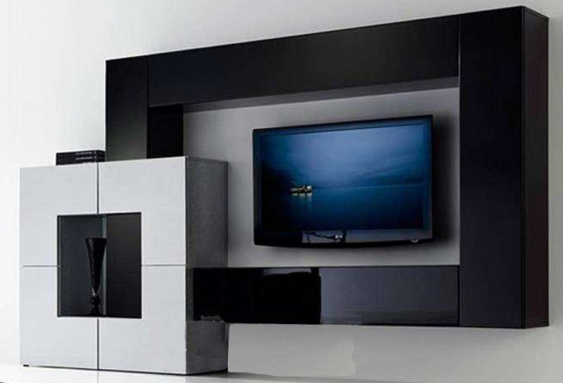 Soluciones para tv muebles contemporaneos minimalistas - Fotos muebles para tv ...