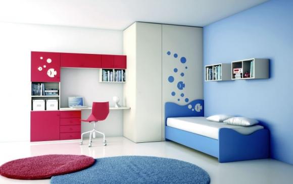 recamaras infantiles muebles contemporaneos minimalistas
