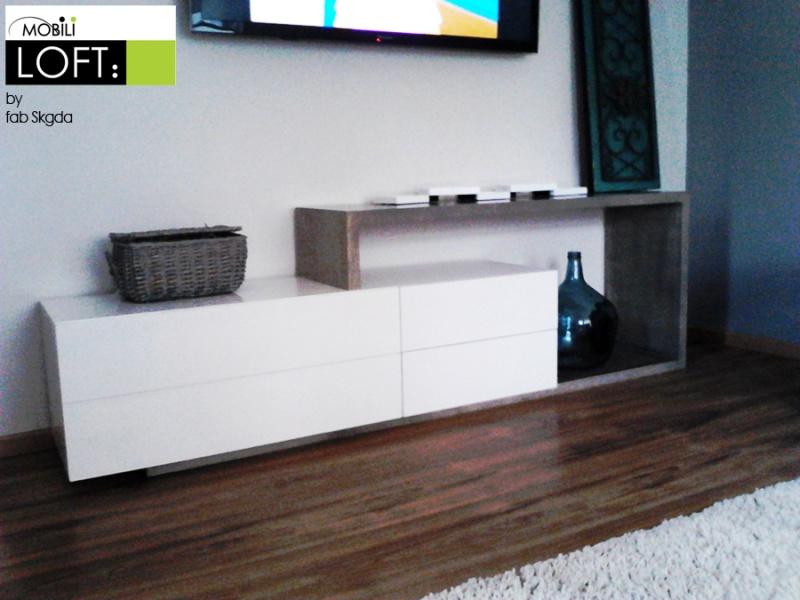 Tv stands muebles contemporaneos minimalistas for Muebles minimalistas para tv