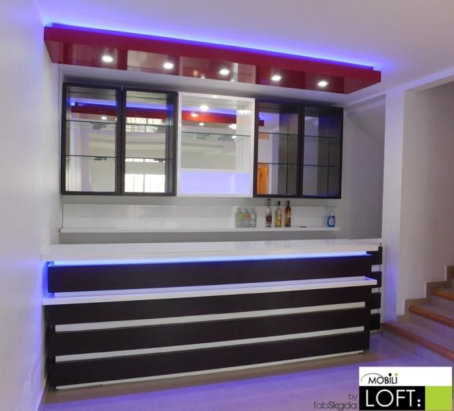 Cantinas y barras exclusivas muebles contemporaneos for Modelos de barras para bar