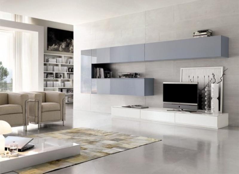 Soluciones para tv muebles contemporaneos minimalistas for Arredamento centro estetico usato