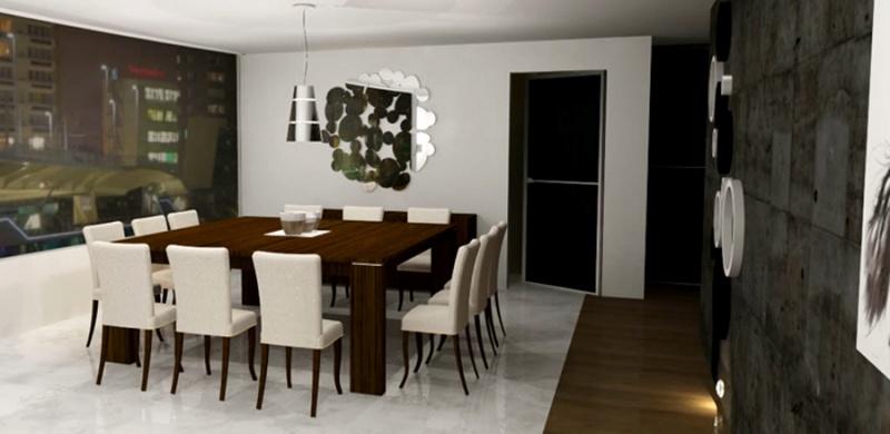 comedores y mesas de trabajo muebles contemporaneos