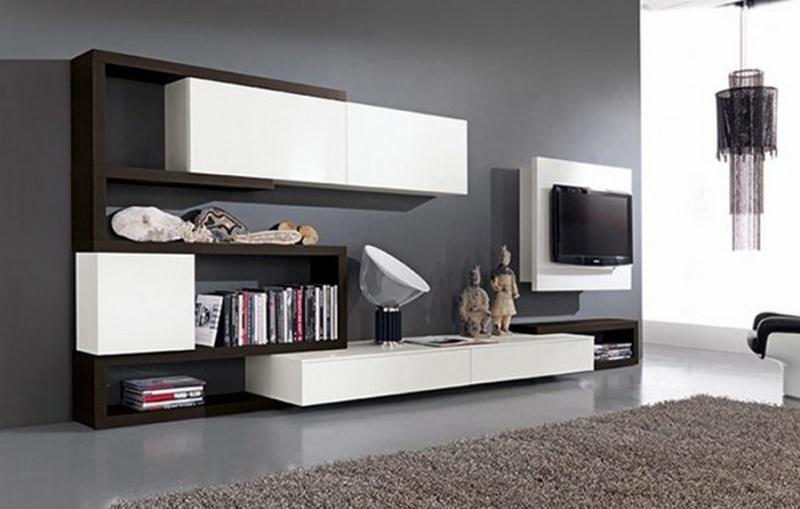 Muebles entretenimiento para sala for Muebles minimalistas