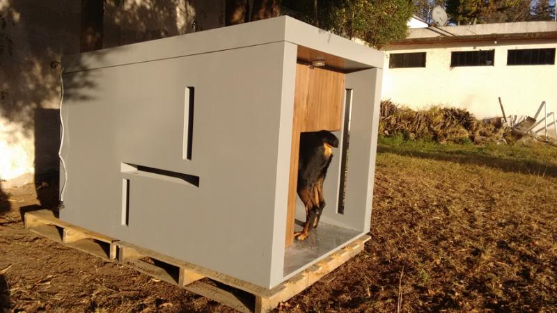 Casa para mascotas muebles contemporaneos minimalistas - Barniz para exteriores ...