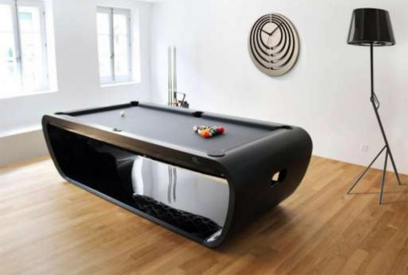 Mesas de billar muebles contemporaneos minimalistas - Tavolo pranzo biliardo ...