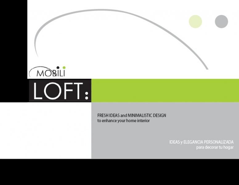 Mobililoft muebles contemporaneos minimalistas for Loft muebles
