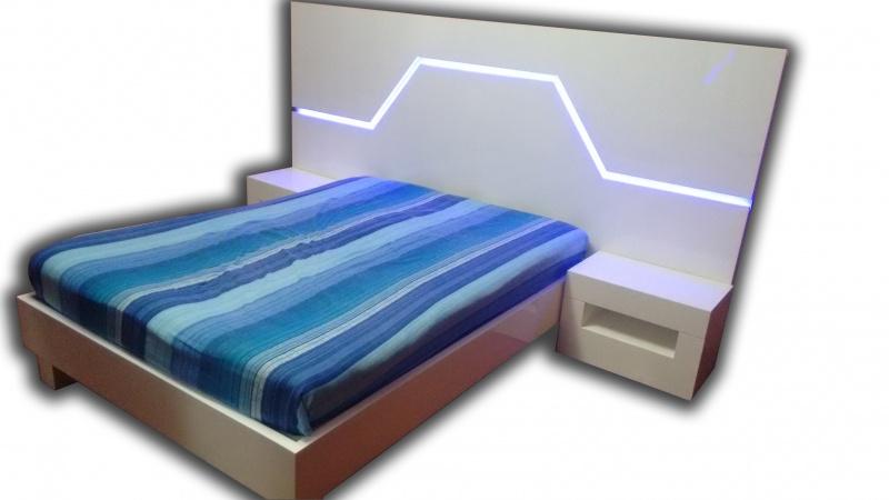 Recamaras modernas muebles contemporaneos minimalistas for Base de cama matrimonial con cajones
