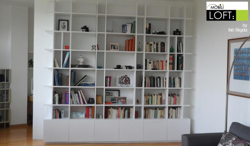 Libreros modernos libreros a mxn 29000 en preciolandia for Libreros minimalistas para oficina