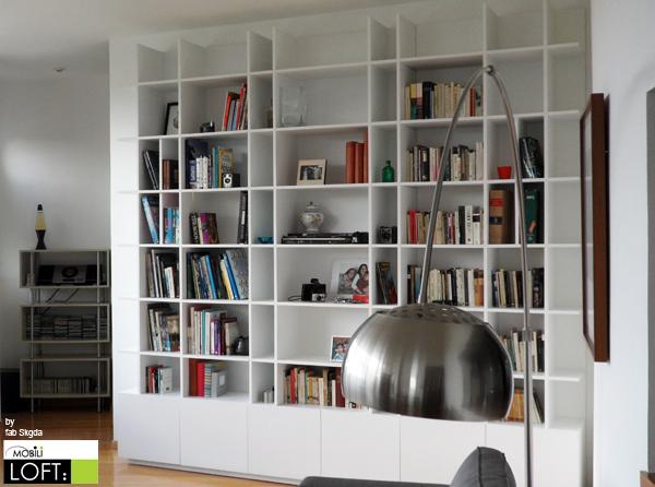 Libreros muebles contemporaneos minimalistas for Libreros minimalistas para oficina