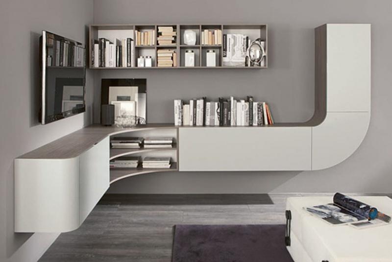 Centros de entretenimiento muebles contemporaneos for Soggiorno minimalista