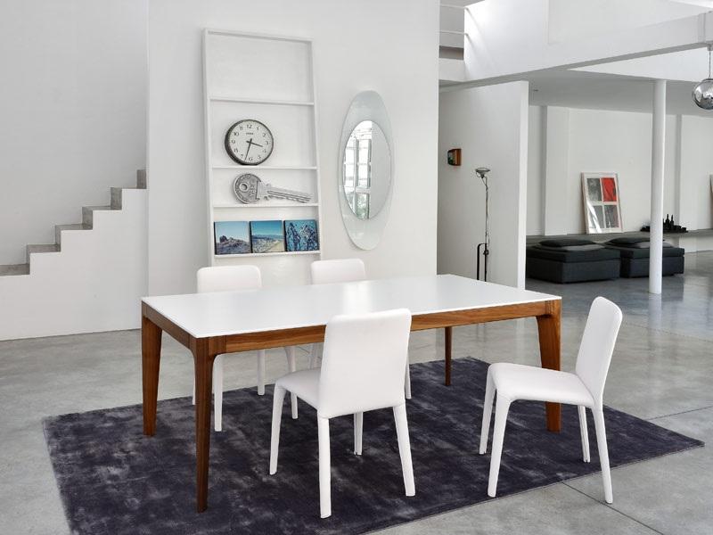 Comedores y mesas de trabajo muebles contemporaneos - Dimensiones mesa comedor ...