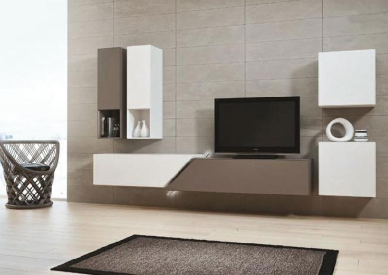 Muebles para tv minimalistas espacios pequenos for Muebles minimalistas
