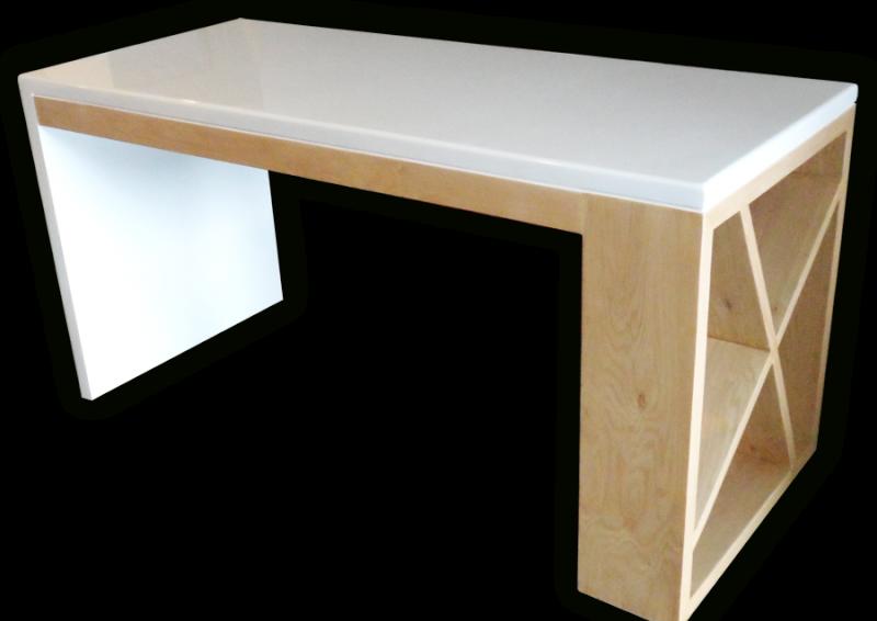 el escritorio modelo sottile diseado por fab skgda es la de una nueva e innovadora oficina formas redondeadas tamaos imponentes y una