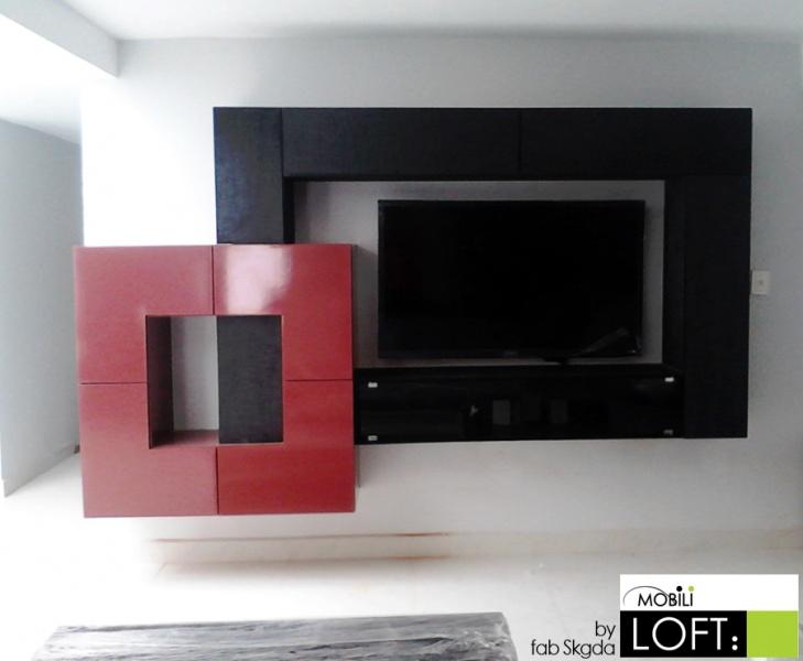 Soluciones para tv muebles contemporaneos minimalistas for Muebles minimalistas