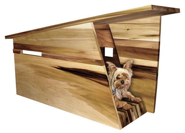 casa para mascotas muebles contemporaneos minimalistas On casa minimalista perro
