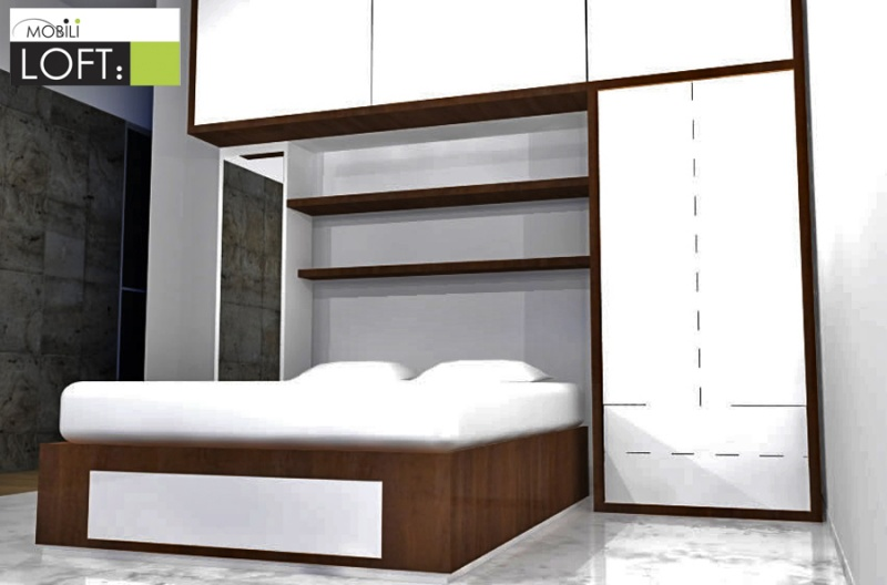 Recamaras modernas muebles contemporaneos minimalistas for Recamaras modernas con closet