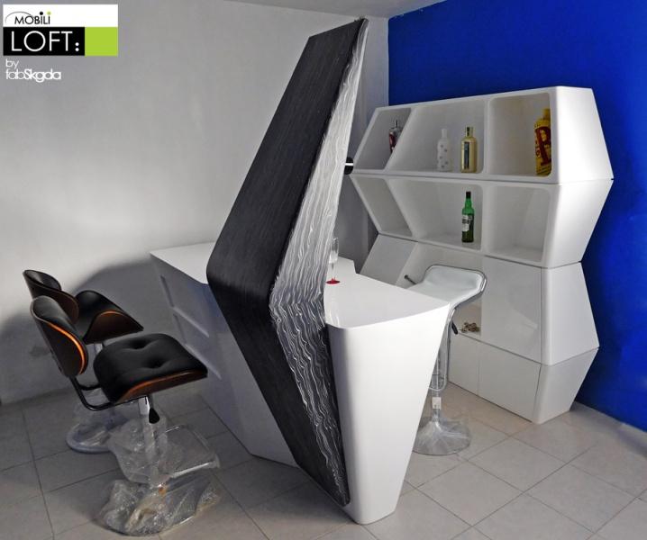 Cantinas y barras muebles contemporaneos minimalistas - Muebles para cocina economica ...